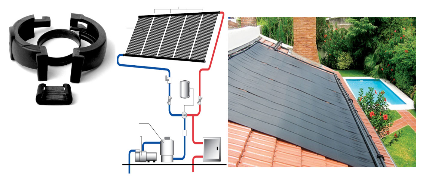 DIY Solar Kits for electric, solar pool heating, and solar hot water